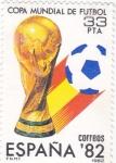 Sellos de Europa - España -  Copa mundial de futbol  España-82    (D)