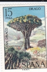 Stamps Spain -  Drago     (D)