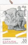 Sellos de Europa - España -  Museo Nacional del Prado- Hermanitos de leche     (D)