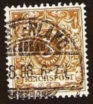 Stamps Germany -  Clásicos - Imperio Alemán