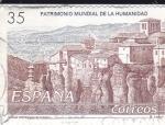Sellos de Europa - España -  patrimonio mundial de la humanidad - ciudad fortificada de Cuenca  (D)