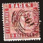 Stamps Europe - Germany -  Clásicos - Baden