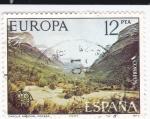 Stamps Spain -  parque nacional de Ordesa    (D)