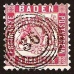 Stamps Europe - Germany -  Clasicos - Baden