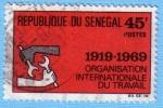 Stamps : Africa : Senegal :  Organización Internacional del trabajo