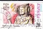 Sellos de Europa - España -  Historia de España- Dama de Elche    (D)