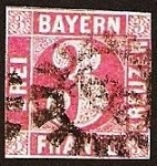 Stamps Europe - Germany -  Clásicos - Bayern