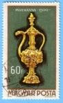 Stamps : Europe : Hungary :  Misekanna 1500