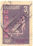 Stamps : America : Panama :  JUEGOS OLIMPICOS ROMA 1960