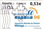 Stamps Spain -  Exposición Mundial de Filatelia Málaga    (D)