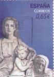 Stamps Spain -  Navidad.Adoración al Niño    (D)