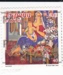 Stamps Spain -  navidad'    (D)