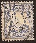 Stamps Germany -  Clásicos - Bayern