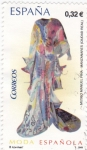 Sellos de Europa - España -  moda española   (D)