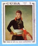 Stamps : America : Cuba :  Obras de Arte del Museo Napoleonico