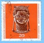 Stamps Germany -  Bronzekopf Afrika