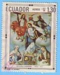 Stamps Ecuador -  Bernando Rodríguez - Siglo XVIII