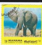 Sellos de Asia - Bahrein -  elefante