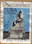 Stamps Cuba -  Monumento Dr. Carlos J. Finlay