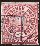 Stamps Europe - Germany -  Clásicos - Confederación Alemana del Norte