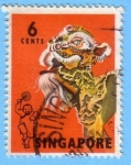 Stamps : Asia : Singapore :