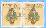 Stamps : America : Canada :  Merry Christmas