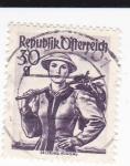 Stamps : Europe : Austria :  trajes tipicos