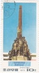 Stamps North Korea -  monumento