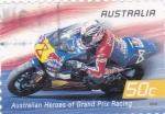 Sellos de Oceania - Australia -  motociclismo