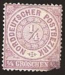 Stamps Europe - Germany -  Clásicos - Confederación Alemana del Norte