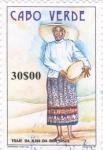 Stamps : Africa : Cape_Verde :  Traje típico de la isla de Boa Vista