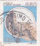 Stamps Italy -  Castello D´Arechi Salermo