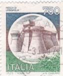 Stamps Italy -  Rocca  di Urbisaglia