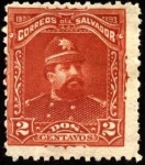 Stamps America - El Salvador -  General Carlos Ezeta.