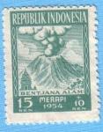 Stamps : Asia : Indonesia :  Bentjana Alam