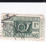 Stamps Italy -  Sul Bollettino