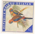 Stamps Indonesia -  ISLAS MOLUKAS - Aves