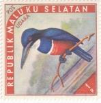 Stamps Indonesia -  ISLAS MOLUKAS - Aves