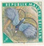 Sellos de Asia - Indonesia -  ISLAS MOLUKAS - Aves