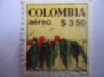 Stamps Colombia -  Colombia - Planta de café y Fruto del Café