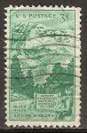 Sellos del Mundo : America : Estados_Unidos :  25a Aniv de la montaña. Rushmore National Memorial.Dakota del sur.