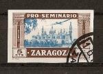 Sellos del Mundo : Europa : España : Pro-Seminario Zaragoza.