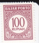 Stamps : Asia : Indonesia :  cifras