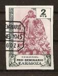 Sellos de Europa - España -  Pro-Seminario Zaragoza.