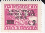 Sellos de Europa - Yugoslavia -  mujer armada