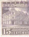 Sellos de America - Venezuela -  oficina principal de correos Caracas