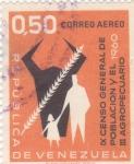Stamps Venezuela -  IX censo general de población y el agropecuario