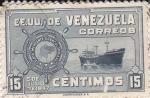 Stamps Venezuela -  Flota mercante colombiana