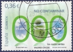 Stamps Spain -  Edifil 4695 No contaminar: ceros verdes 0,36