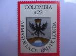 Sellos de America - Colombia -  Escudo de Armas de la Ciudad de Honda.